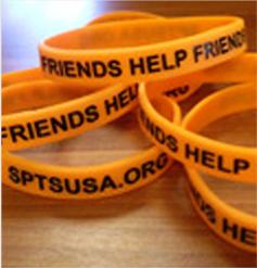 Friends Help Friends Wristbands